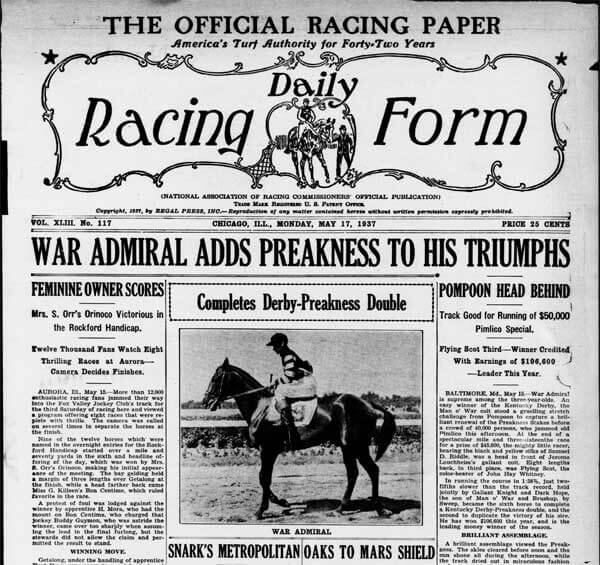 Best US Newspapers for Horse Racing news, tips, results and replays - racing form