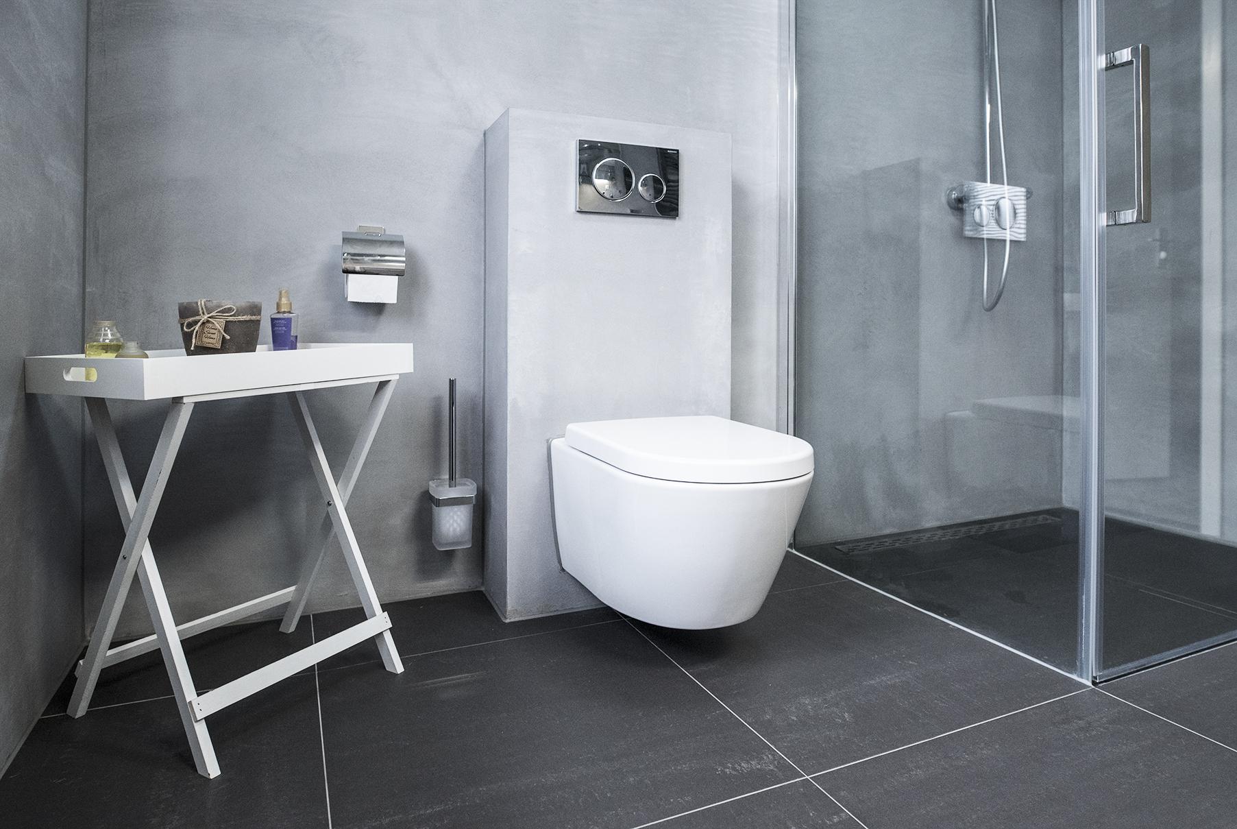 Betonstuc badkamer kosten beton cire ervaringen