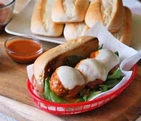 buffalo-chicken-meatball-sub-sandwich-recipe
