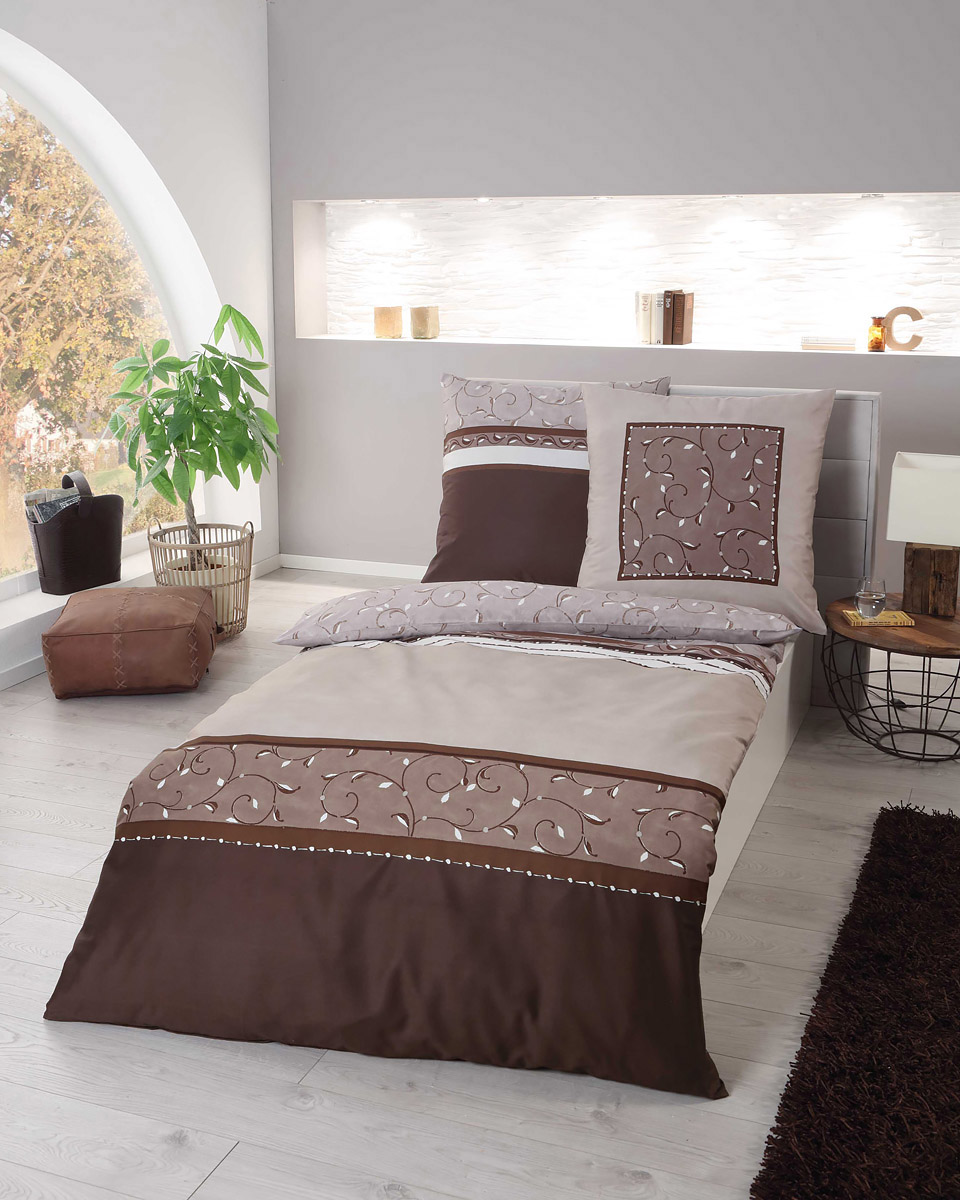Bedding Home Furniture Diy Kaeppel Mako Satin Bettwäsche Eternity Combo 80x80 7 Farben 135x200 Cm Princeplastic Co In