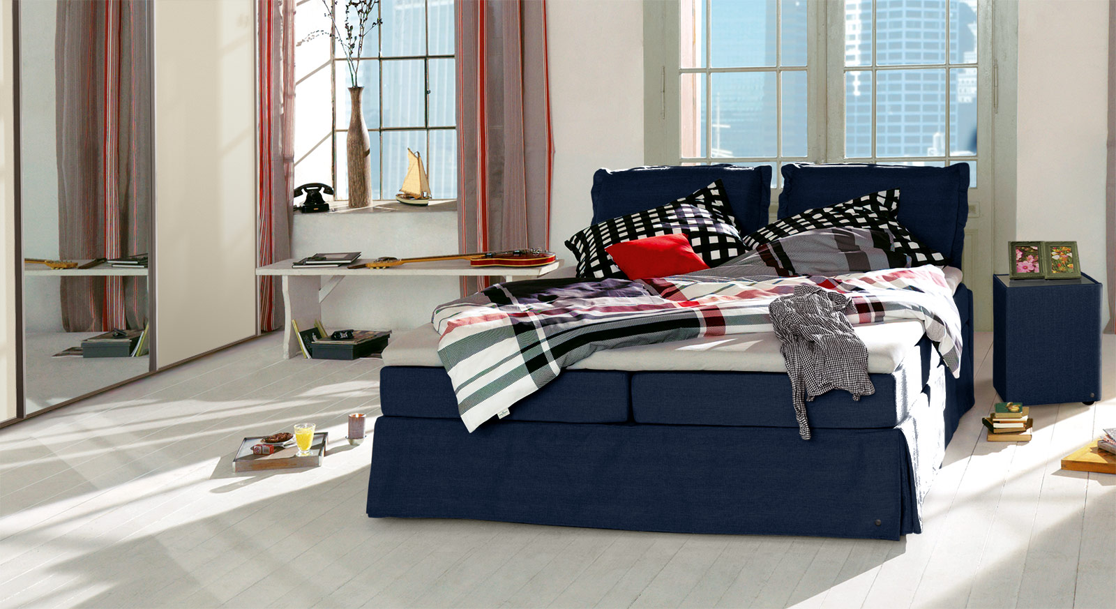 Tom Tailor Bett Romantisches Tom Tailor Cushion Boxspringbett Mit Volant