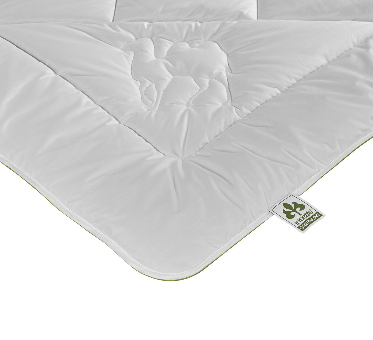Irisette Steppbett Greenline Kamel Eco Duo 135x200cm Bettenshop Deluxe