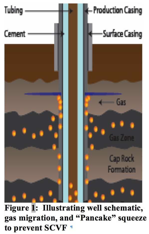 Gas migration and surface casing vent flow (SCVF) issues and
