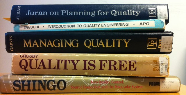 Quality gurus books