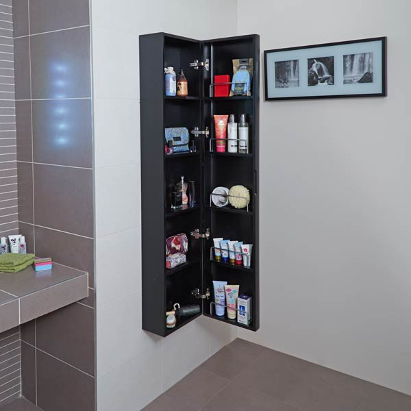 Bathroom Showrooms Eclipse Wall Mounted Storage Unit
