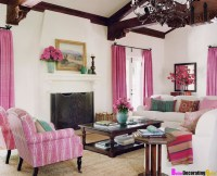 10 Amazing Pink Living Room Interior Design Ideas ...