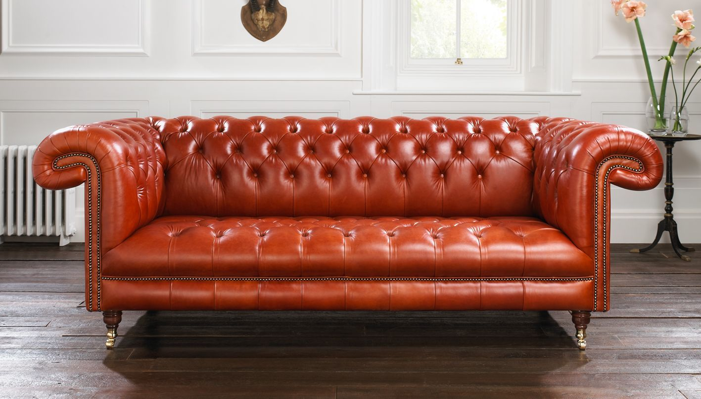 Sofa In Chesterfield Look Style Spotlight Why Choose A Chesterfield Couch