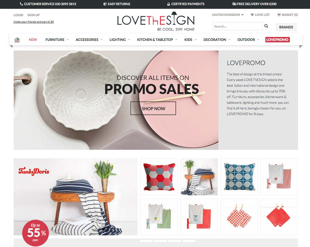 Online Decor Shopping Spotlight On Lovethesign A New Online Shop With The