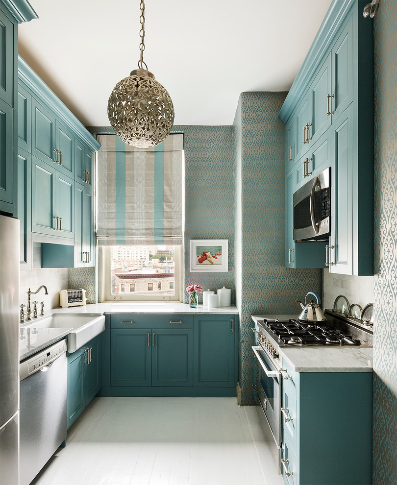 7 steps to decorating your dream kitchen make sure to buy our must have items kitchen wallpaper designs blue wallpaper kitchen teal turqouise decor ideas