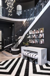 How to Get the Look: Glamorously Decorated Home Entrances ...