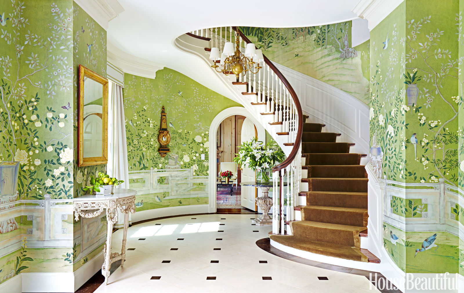 Beautiful Home Entrances How To Get The Look Glamorously Decorated Home Entrances