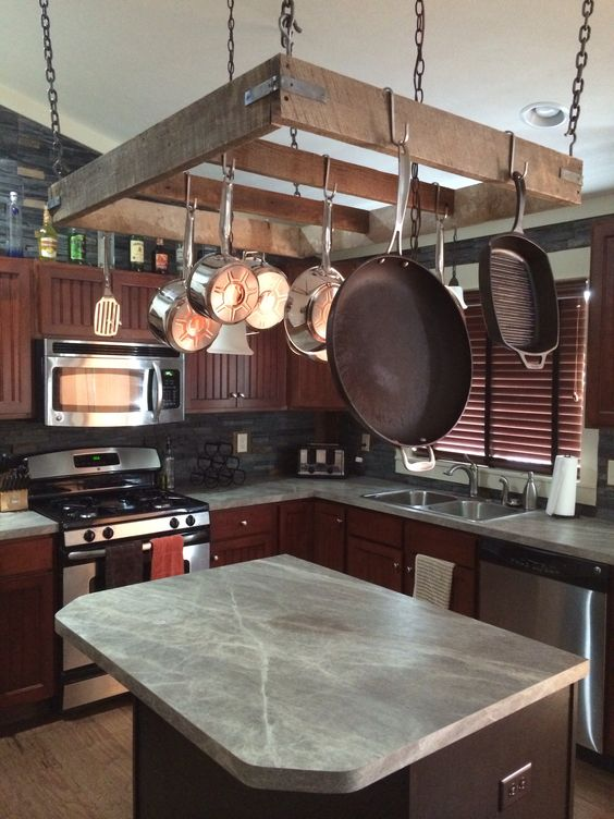 Kitchen Island Hanging Pot Racks 4 Surprising Ways To Save Space In Your Home – Better
