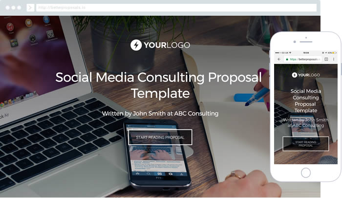 Free Consulting Proposal Template - Better Proposals