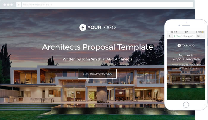Free Estate Agent Proposal Template - Better Proposals - real estate proposal template