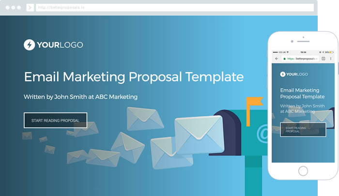 Content Marketing Proposal Template - Better Proposals - marketing proposal templates