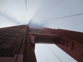 Looking up at the Bridge
