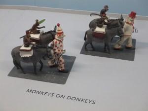 Monkeys on Donkeys