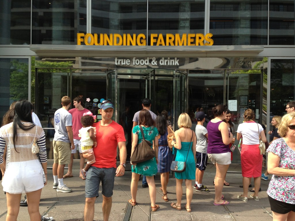 founding farmers foggy bottom brunch review