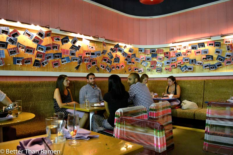 distrito university city tasting menu review interior