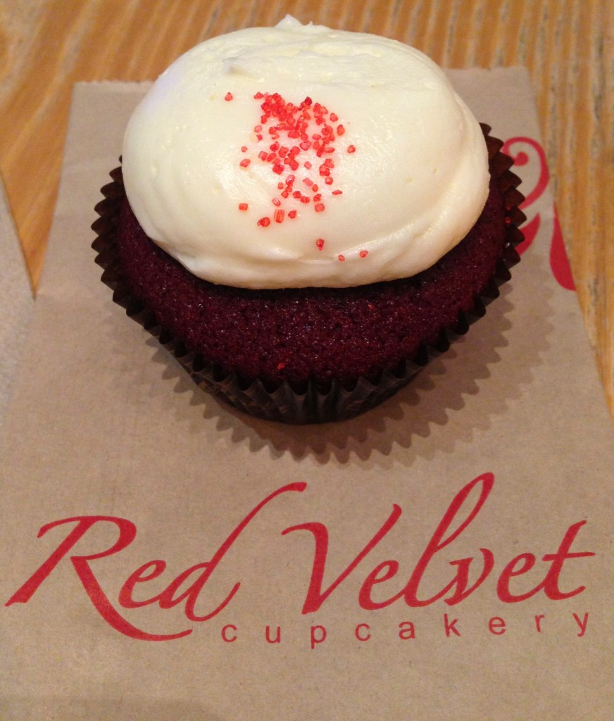 red velvet cupcakery review