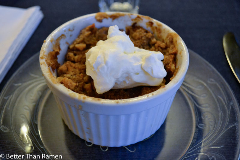 anglers inn harpers ferry breakfast review apple crisp