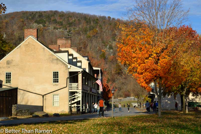 anglers inn harpers ferry breakfast review downtown national park