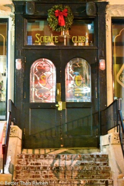 science club dc vegetarian restaurant review entrance