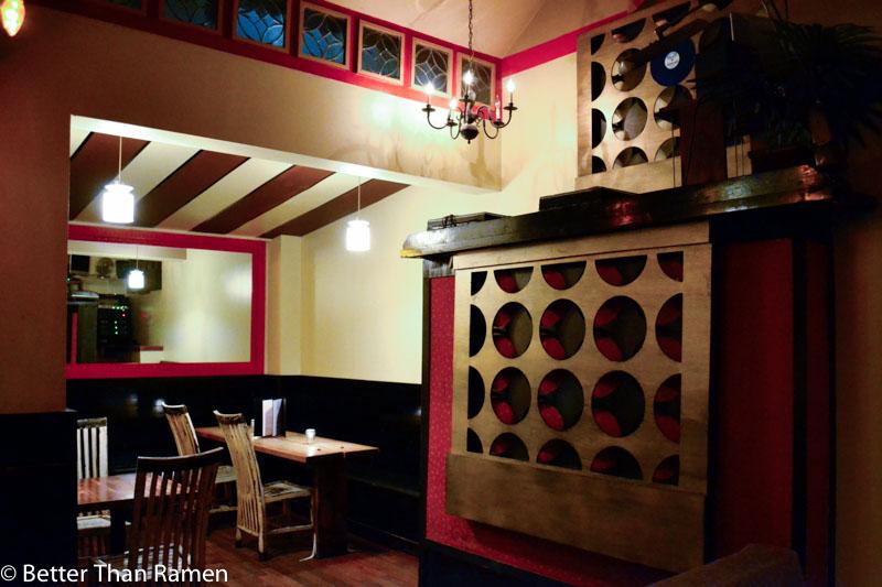 science club dc vegetarian restaurant review bar interior