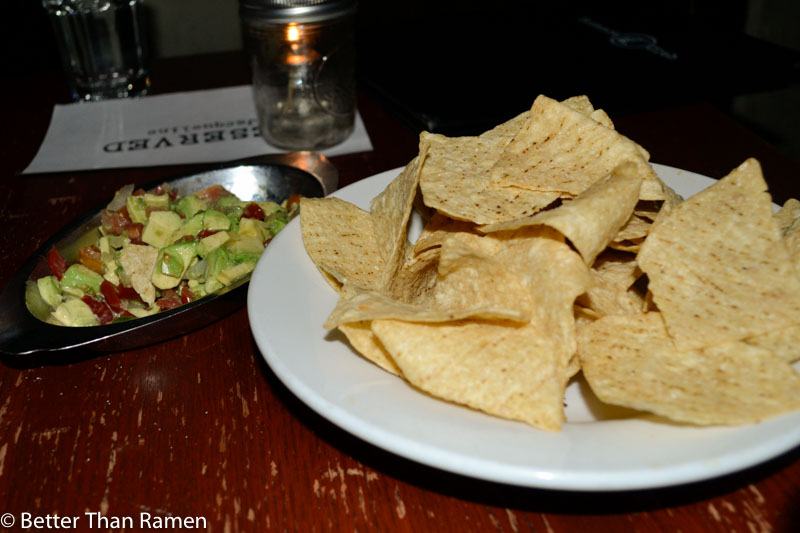 science club dc vegetarian restaurant review tortilla chips guacamole