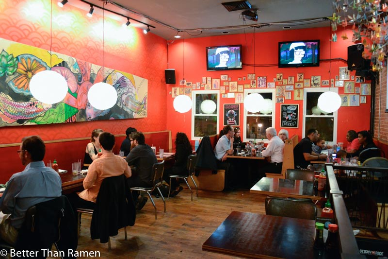 sticky rice dc review interior