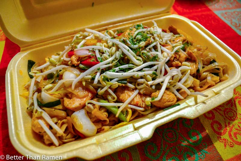 thai fazon belgrade review tajlandska hrana dostava chicken pad thai