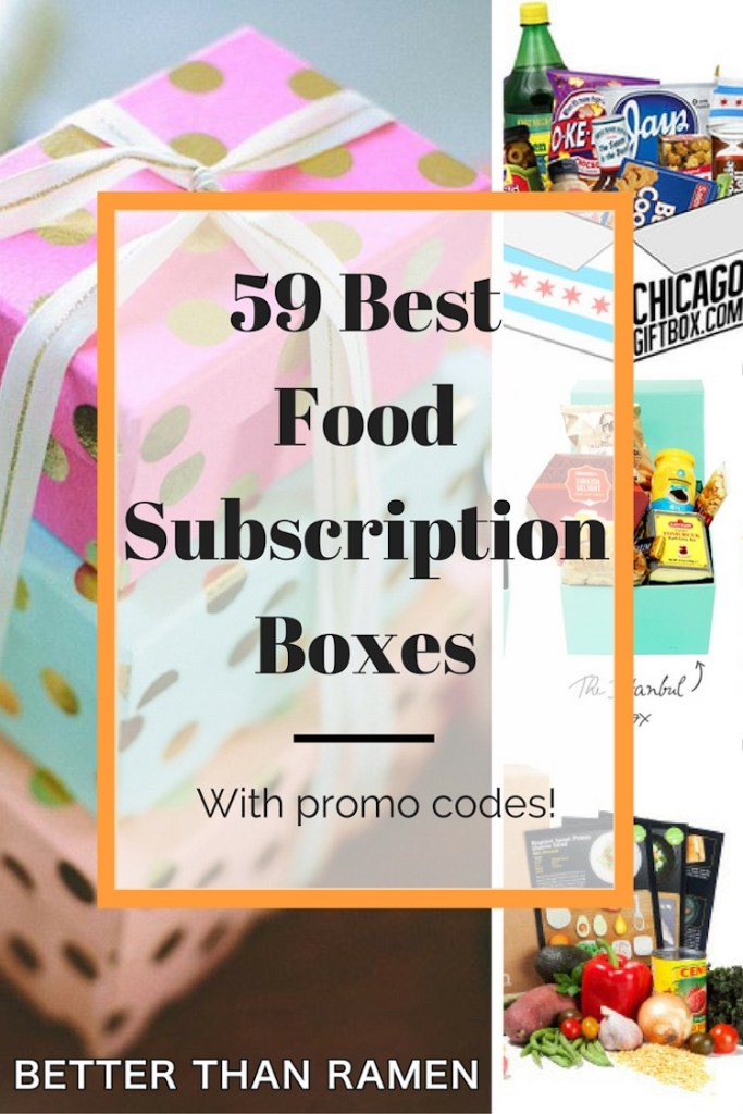 59 best food subscription boxes