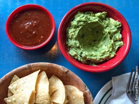 taqueria feliz review guacamole