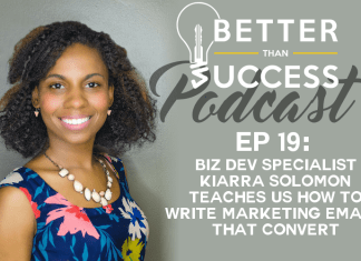 #19: Biz Dev Specialist Kiarra Solomon Teaches Us How to Write Marketing Emails That Convert