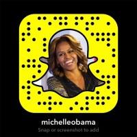 Michelle Obama on Snapchat