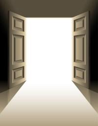 Walking Through Open Doors; Taking Dreams Down Off High