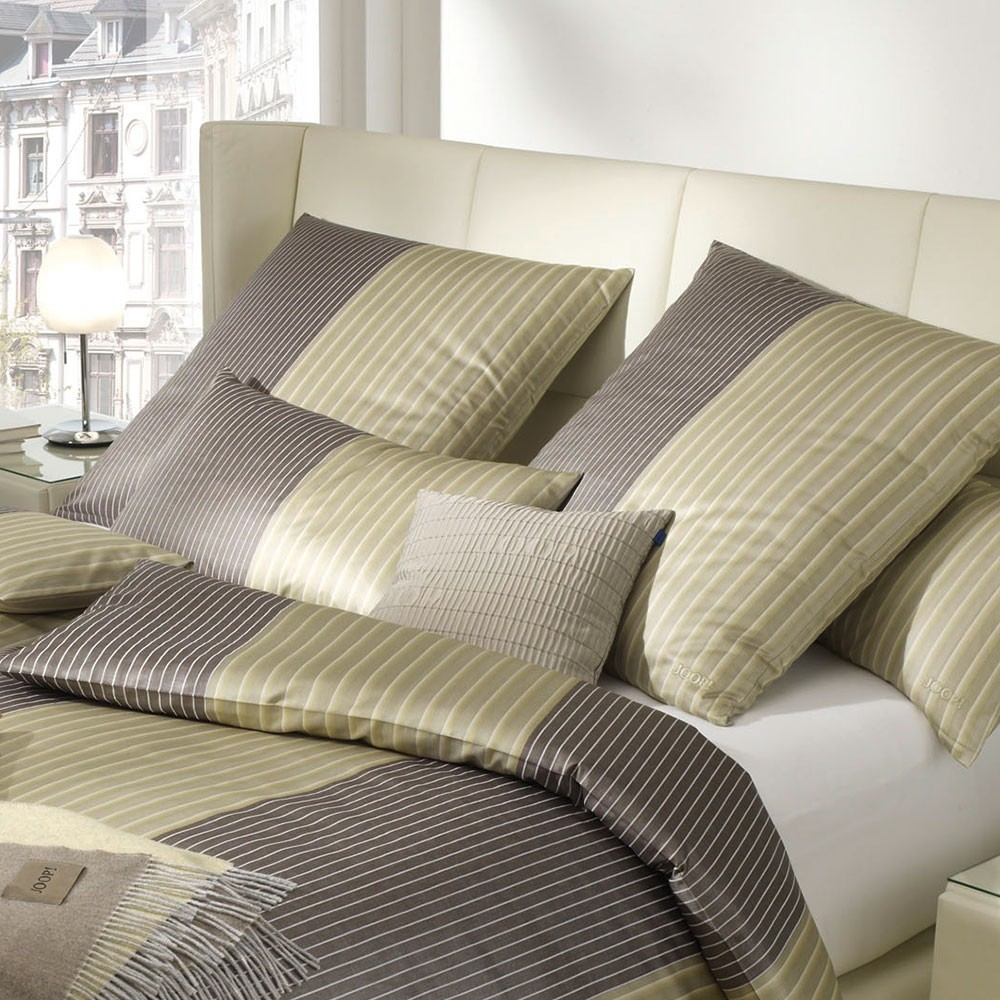 Joop Bettwäsche 155x220 Sale Joop Bettwäsche Double Stripes Messing 155 X 220 80 X 80 Bett