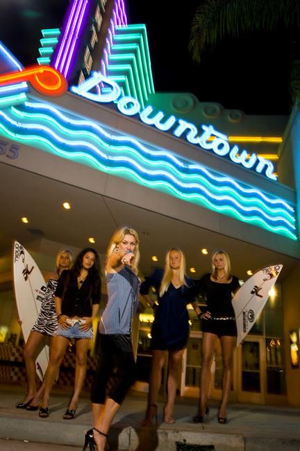 Betty Belts Surf Team