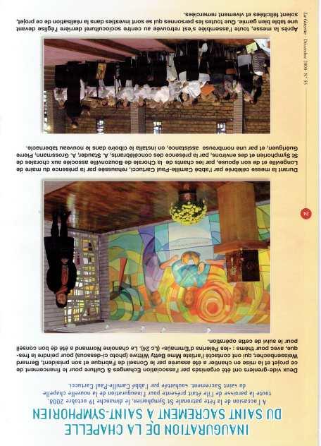 Inauguration fresque - 2008