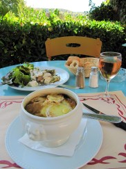 Lunch at Hotel Baudy in Giverny.