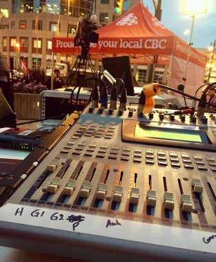 Live at Portage and Main with CBC