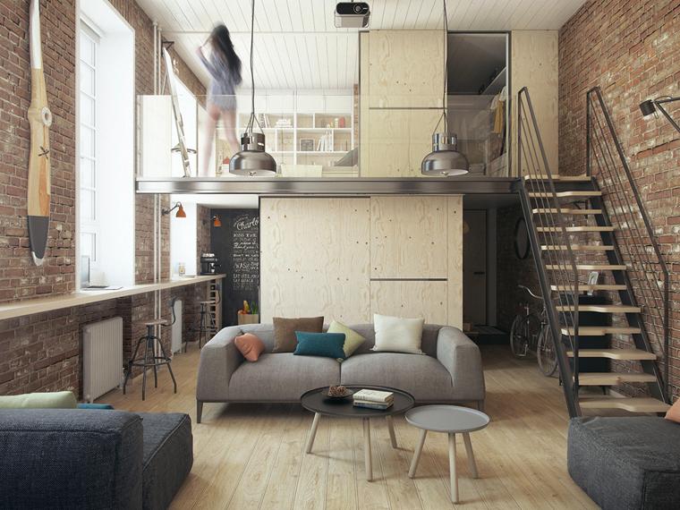 極致化美感和功能的10坪挑高樓中樓