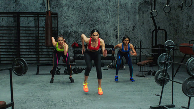 NIKE印度女性運動廣告-2