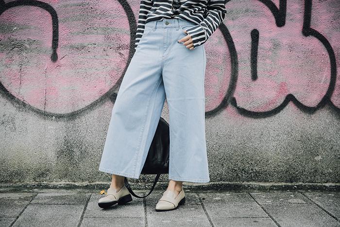 OL穿搭 Pubutic Ace 平價時尚 中性穿搭 寬褲 寬褲穿搭 襯衫穿搭