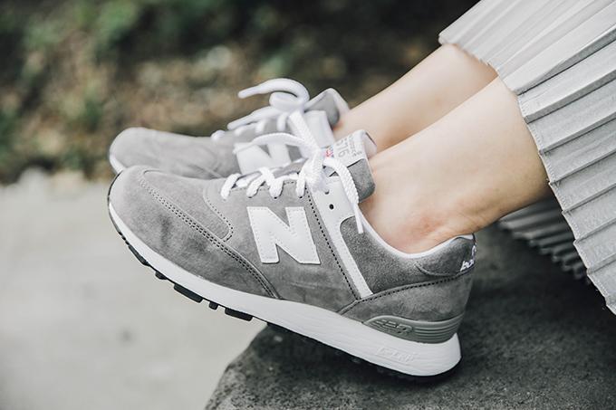 new balance女鞋 休閒鞋 OL穿搭