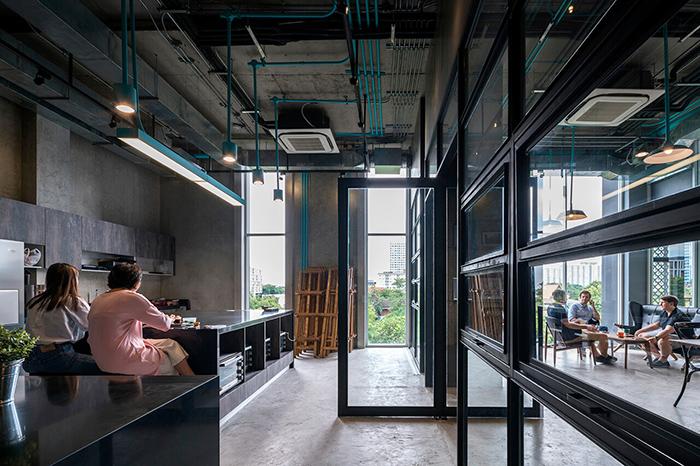 共同工作空間 曼谷 新創 工業風 東南亞新創