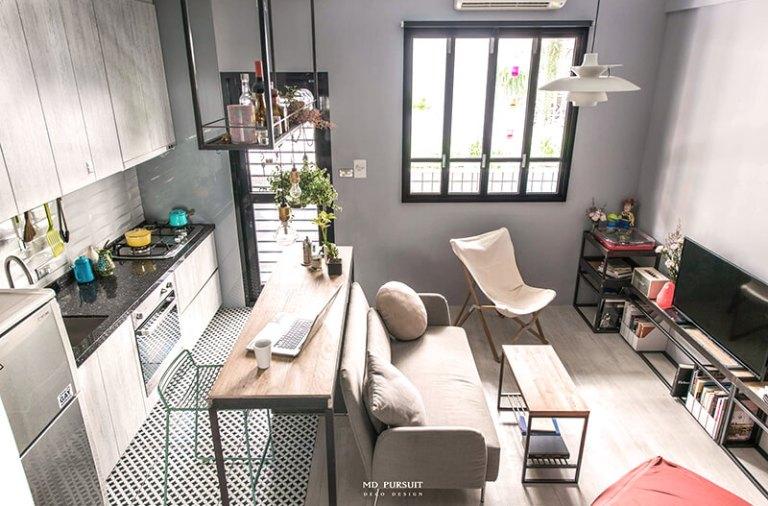 台北小公寓-室內設計