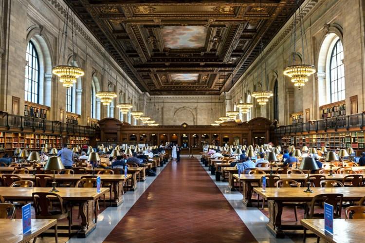 美國紐約公共圖書館