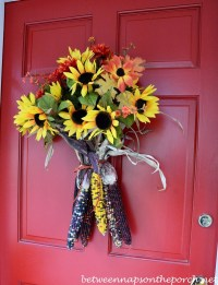 Fall Door & Dyner And Simple Fall Door Decorations Easy ...
