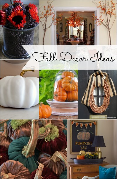 Fall Decorating Ideas
